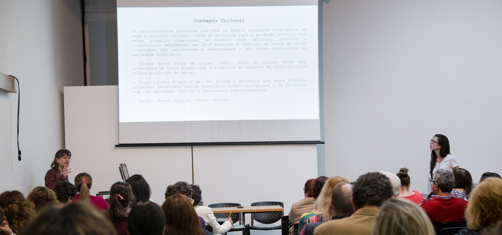 Relato: Curso de arte brasileira para professores