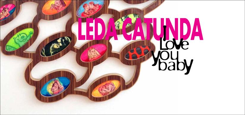 Leda Catunda - I love you baby