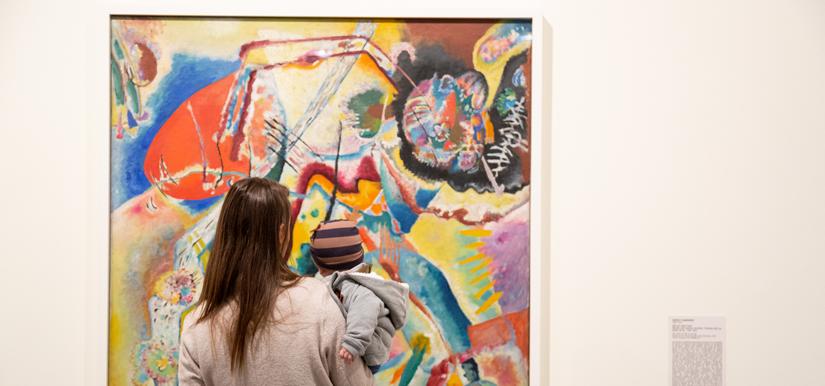 No Colo, propostas artísticas para bebês - Fevereiro (Programa Nossas Artistas)